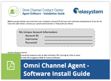 Omni Channel Agent - Software Installation Guide