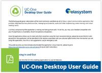 UC Desktop UG